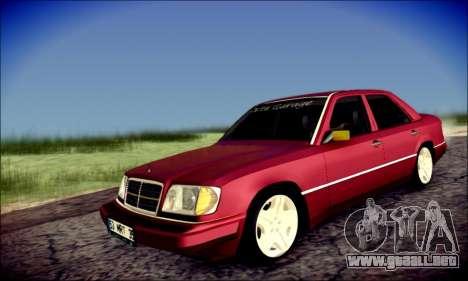 Mercedes-Benz E320 Delta Garage para GTA San Andreas