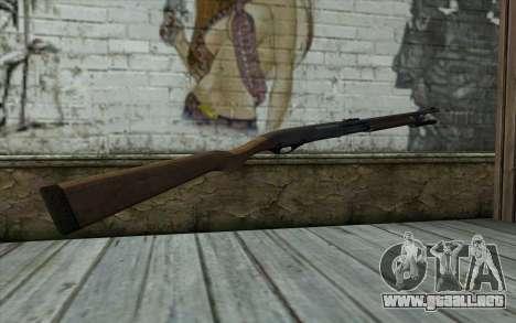 Escopeta (L4D2) para GTA San Andreas segunda pantalla