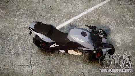 Bajaj Pulsar 200NS 2012 para GTA 4 visión correcta
