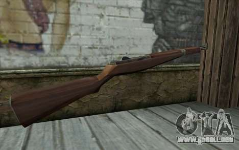 M1 Garand from Day of Defeat para GTA San Andreas segunda pantalla