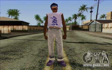 Haitian from GTA Vice City Skin 2 para GTA San Andreas