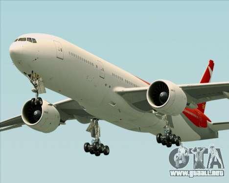 Boeing 777-21BER Nordwind Airlines para GTA San Andreas left