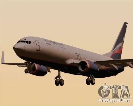 Boeing 737-8LJ Aeroflot - Russian Airlines para GTA San Andreas
