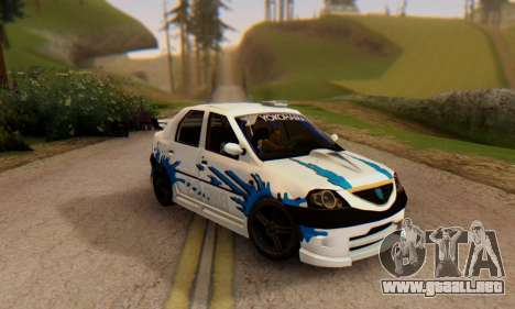Dacia Logan Tuning para GTA San Andreas
