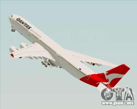 Airbus A340-300 Qantas para GTA San Andreas