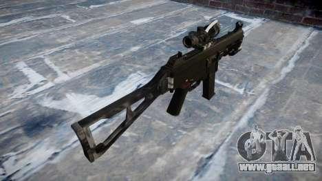 Pistola de UMP45 Kryptek Peleas para GTA 4 segundos de pantalla
