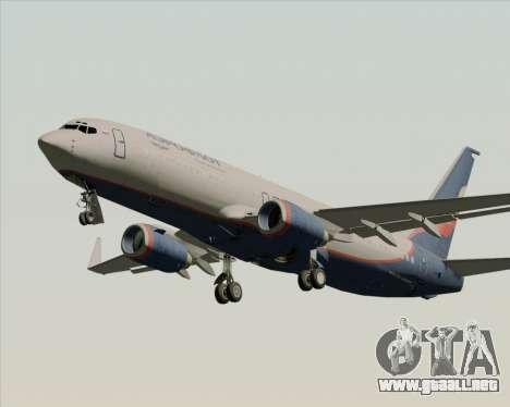 Boeing 737-8LJ Aeroflot - Russian Airlines para las ruedas de GTA San Andreas