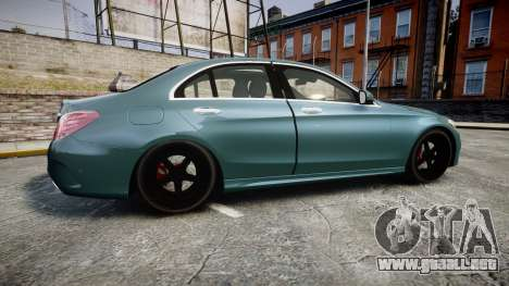 Mercedes-Benz C250 para GTA 4 left