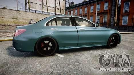 Mercedes-Benz C250 para GTA 4 left
