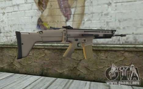 MK 16 SCAR para GTA San Andreas segunda pantalla