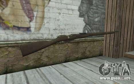 Mosin-v2 para GTA San Andreas segunda pantalla