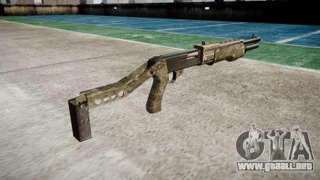 Ружье Franchi SPAS-12 DEVGRU para GTA 4 segundos de pantalla