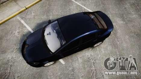 Dodge Dart 2013 Undercover [ELS] para GTA 4 visión correcta