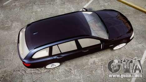 BMW 530d F11 Unmarked Police [ELS] para GTA 4 visión correcta