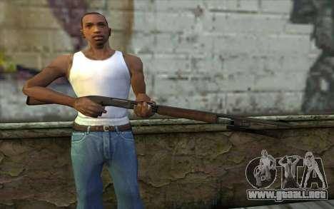 Escopeta (L4D2) para GTA San Andreas tercera pantalla