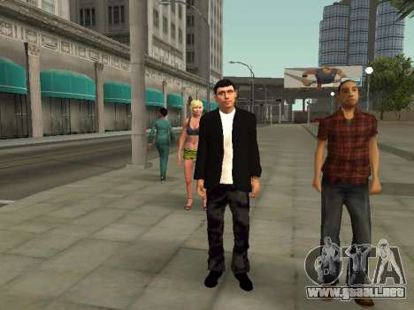Denis Antoshin para GTA San Andreas segunda pantalla