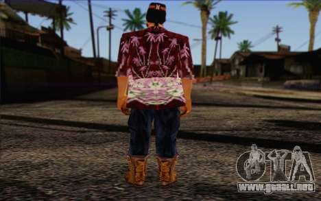 Cartel from GTA Vice City Skin 1 para GTA San Andreas segunda pantalla