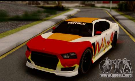 Bravado Buffalo S (HQLM) para la visión correcta GTA San Andreas