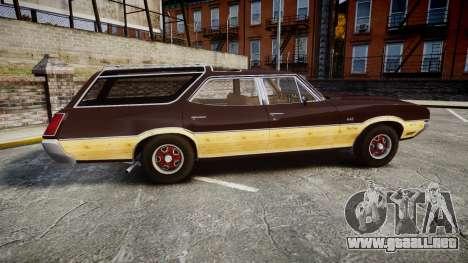 Oldsmobile Vista Cruiser 1972 Rims2 Tree5 para GTA 4 left