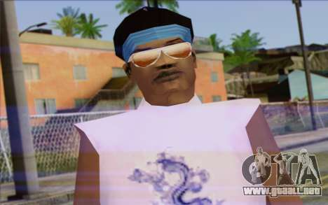 Haitian from GTA Vice City Skin 2 para GTA San Andreas tercera pantalla