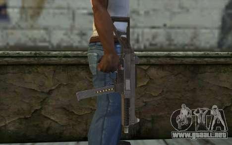 UMP45 from Spec Ops: The Line para GTA San Andreas tercera pantalla