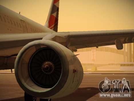 Airbus A321-232 Czech Airlines para el motor de GTA San Andreas