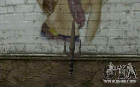 Knife from Deadpool para GTA San Andreas