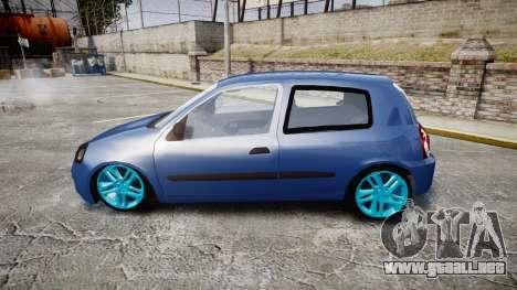 Renault Clio Mio 2014 para GTA 4 left