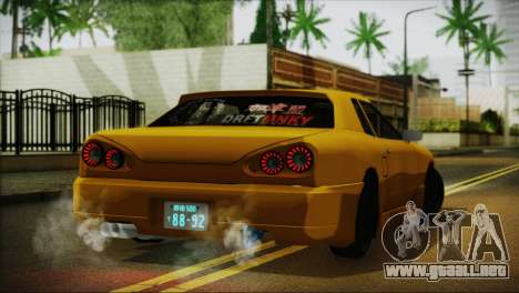 Elegy Team DriftMonkey para GTA San Andreas left