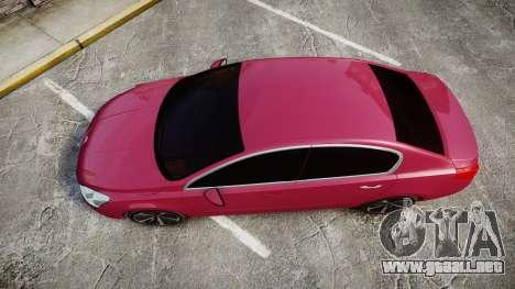 Peugeot 508 v1.2 para GTA 4 visión correcta