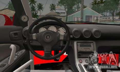 Nissan Silvia S15 Team Drift Monkey para la visión correcta GTA San Andreas