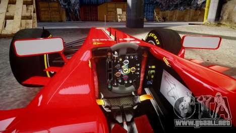 Ferrari F138 v2.0 [RIV] Massa TSD para GTA 4 vista interior