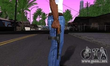 Pistola De Shpagina para GTA San Andreas tercera pantalla