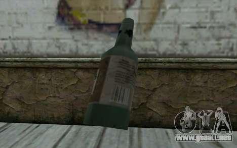 Una botella de cerveza para GTA San Andreas