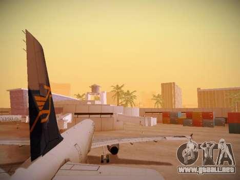 Airbus A321-232 Cyprus Airways para GTA San Andreas