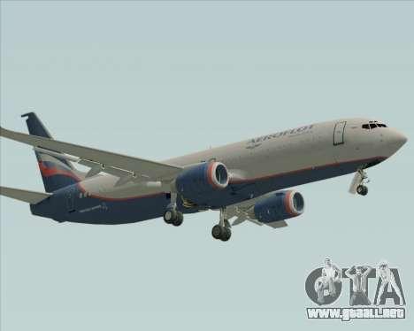 Boeing 737-8LJ Aeroflot - Russian Airlines para GTA San Andreas left