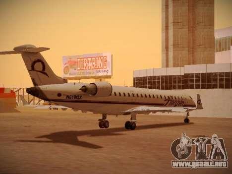 Bombardier CRJ-700 Horizon Air para la vista superior GTA San Andreas