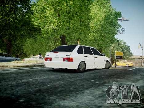 VAZ 2114 para GTA 4 Vista posterior izquierda