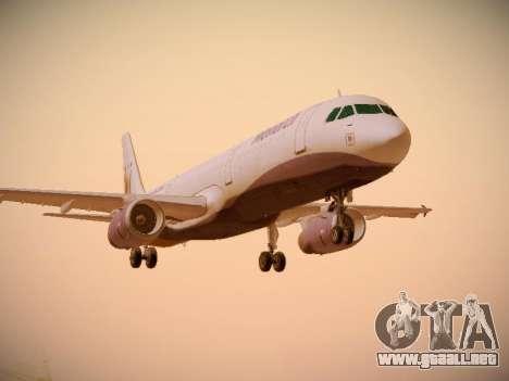 Airbus A321-232 Monarch Airlines para GTA San Andreas left