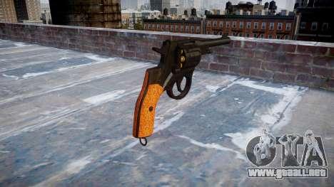 El Revólver Nagant M1895 para GTA 4 segundos de pantalla