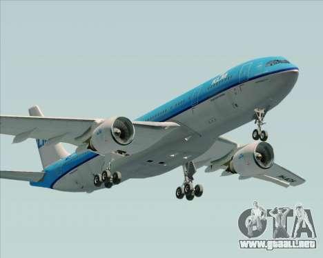 Airbus A330-200 KLM - Royal Dutch Airlines para GTA San Andreas interior