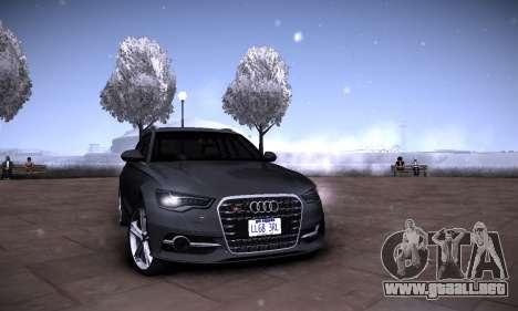 Gráfico mod por medio de la PC 2.0 para GTA San Andreas octavo de pantalla