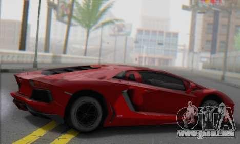 Lamborghini Avendator LP700-4 2012 para GTA San Andreas left