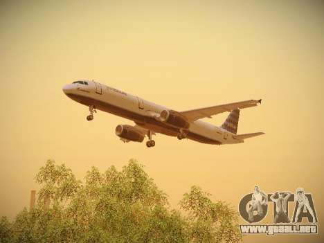 Airbus A321-232 jetBlue Airways para el motor de GTA San Andreas
