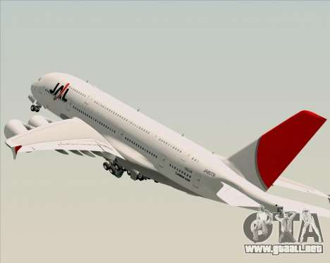 Airbus A380-800 Japan Airlines (JAL) para GTA San Andreas