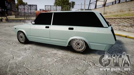 VAZ-2104 hooligan estilo de azerbaiyán para GTA 4 left
