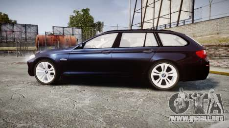 BMW 530d F11 Unmarked Police [ELS] para GTA 4 left