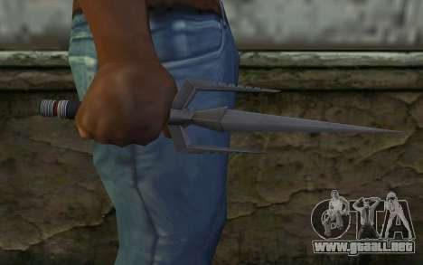 Knife from Deadpool para GTA San Andreas tercera pantalla