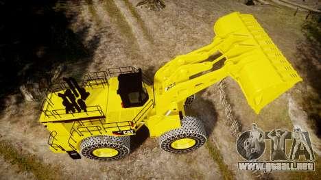 Caterpillar 994F para GTA 4 visión correcta