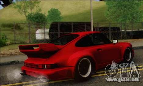 Porsche 930 Turbo Look 1985 Tunable para GTA San Andreas vista hacia atrás